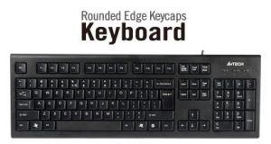 Клавиатура A4 TechKR-85 Comfort Round  USB