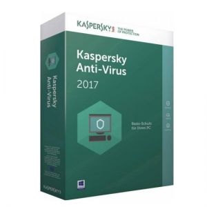 Антивирус Kaspersky AntiVirus 2017 - 1 device, 1 year + 3 months, Box