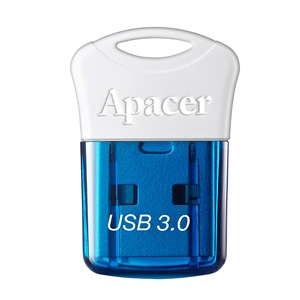 Памет Apacer 16GB Super-mini Flash Drive AH157 Blue - USB 3.0 interface