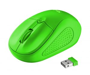 Мишка TRUST Primo Wireless Mouse - Green