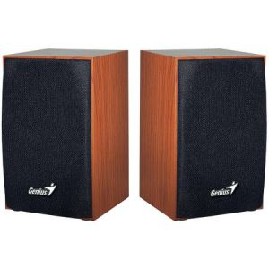 Тонколони Genius 2.0 SP-HF160, 4W RMS, USB, Cherry Wood