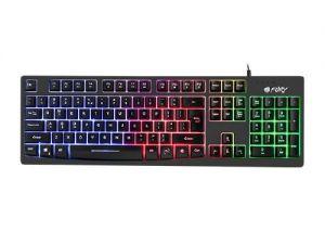 Клавиатура  FURY Геймърска клавиатура Gaming Keyboard HELLFIRE