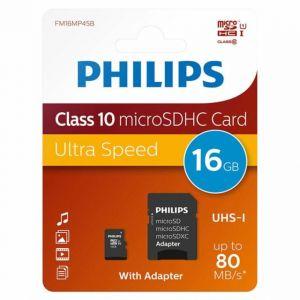 Памет 16GB Philips MicroSDHS card