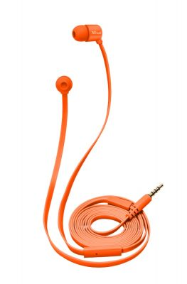 Слушалки TRUST Duga In-Ear Headphone - orange