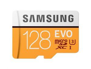 Памет Samsung 128GB micro SD Card EVO+ with Adapter
